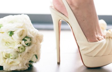 Rebecca Mercia Louboutin Wedding Shoes